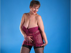 AdultMILF - blond female with  big tits webcam at LiveJasmin