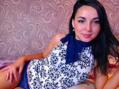 AmelyAngelx - female with black hair and  small tits webcam at ImLive