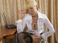 AnalDesire1 - blond female with  big tits webcam at ImLive