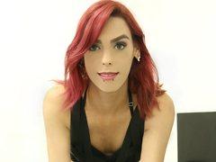 AprilSexQueen - blond shemale webcam at LiveJasmin