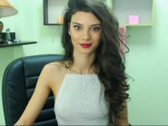BellyAlee - female with brown hair and  small tits webcam at ImLive