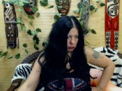 BlackyCat - female with black hair and  big tits webcam at LiveJasmin
