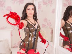 BrigitteTs - shemale with black hair and  big tits webcam at LiveJasmin
