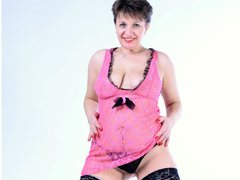 DoraBlueEyess - female with brown hair and  big tits webcam at LiveJasmin
