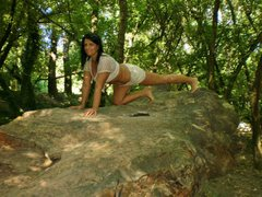 BustyMILF4play - female with black hair and  big tits webcam at ImLive