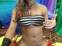 CatrinaHard4U - shemale with brown hair webcam at ImLive