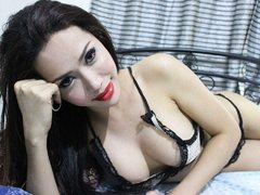 CutieDoLL - shemale with brown hair webcam at ImLive