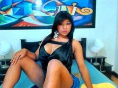 DANY11INCTS - shemale with black hair webcam at ImLive