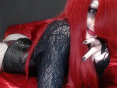 Eden_glam - shemale with red hair and  small tits webcam at ImLive