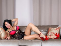 FloraSquirt - female with black hair and  big tits webcam at ImLive