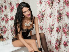 GiaBigPackTs - shemale with black hair and  small tits webcam at xLoveCam