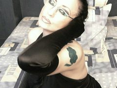 Goddness - female with black hair and  big tits webcam at ImLive