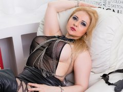 MILFFEMDOM - blond female with  big tits webcam at LiveJasmin