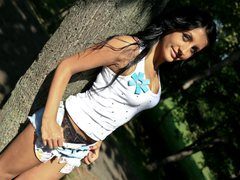 GreenEyesGirl - female with black hair and  small tits webcam at ImLive
