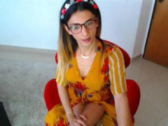 Hannahpornstar - blond shemale webcam at ImLive