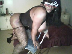 hotsexytsnj - shemale with black hair and  big tits webcam at ImLive