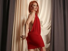 IvyFox - female with red hair webcam at ImLive