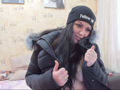 jomana22 - female with black hair and  small tits webcam at ImLive