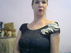 LADYNASTYX - female with brown hair and  big tits webcam at ImLive