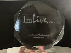 LuxuriousBody - blond female with  big tits webcam at ImLive