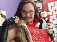 MelieFireRed - female with red hair and  big tits webcam at LiveJasmin