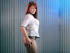 MelisaJade - shemale with black hair webcam at LiveJasmin