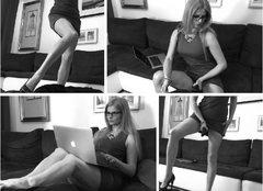 GoddessAnn - blond female with  small tits webcam at xLoveCam