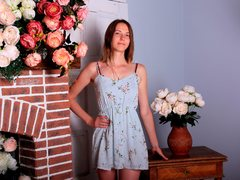 NinaFalcon - female with brown hair and  small tits webcam at LiveJasmin