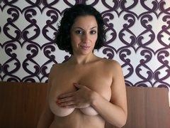Sofiamoroso - female with black hair and  big tits webcam at LiveJasmin