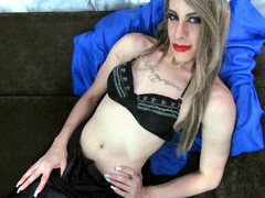 SEX_SCARLET - blond shemale with  small tits webcam at ImLive