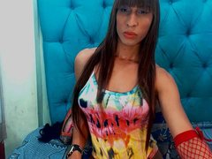 ShailethSOx - shemale with brown hair and  small tits webcam at ImLive