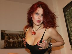 ShamiraWild - female with red hair and  big tits webcam at LiveJasmin