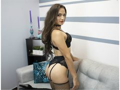 SophieDoll_TS - shemale with brown hair and  small tits webcam at ImLive