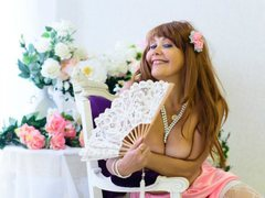 HappyAnni - female with red hair and  big tits webcam at LiveJasmin