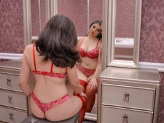 TessyAmellyeX - female with brown hair webcam at ImLive