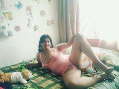tetonamaduraxxx - female with black hair and  big tits webcam at ImLive