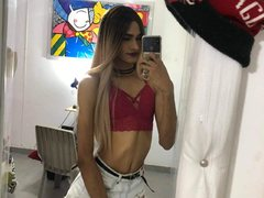 Vall_DirtyX - blond shemale webcam at ImLive