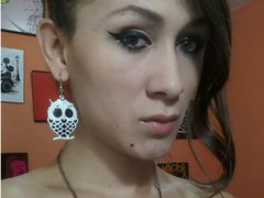 ggreatplayfullx - shemale with brown hair and  big tits webcam at LiveJasmin