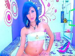 xsurpriisex08 - shemale with black hair webcam at ImLive