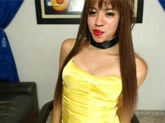 xxshemalehornyx - shemale with brown hair and  small tits webcam at ImLive