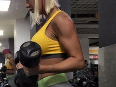 YourMistressT - blond female with  big tits webcam at xLoveCam
