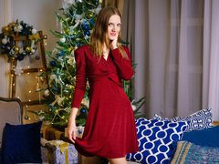 Your_Kassandra - female with brown hair and  small tits webcam at ImLive