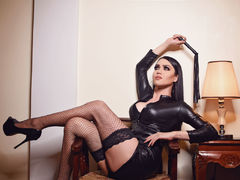 ADominatrix - shemale with black hair webcam at LiveJasmin