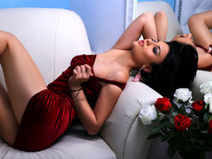 AlexandraRand - female with black hair webcam at LiveJasmin