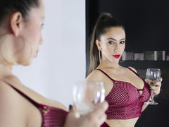 AliceKuins - female with brown hair and  big tits webcam at LiveJasmin