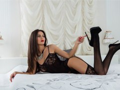 amelyaOO - female with brown hair webcam at LiveJasmin