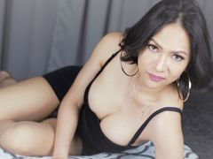 AngelFromHell - shemale with brown hair webcam at LiveJasmin