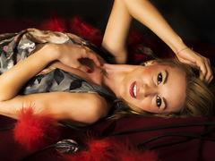 AnjaMorganX - blond female with  big tits webcam at LiveJasmin