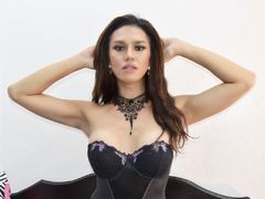 AnnaAnsha - shemale with brown hair webcam at LiveJasmin