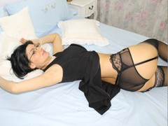 Ariana - female with black hair and  big tits webcam at LiveJasmin